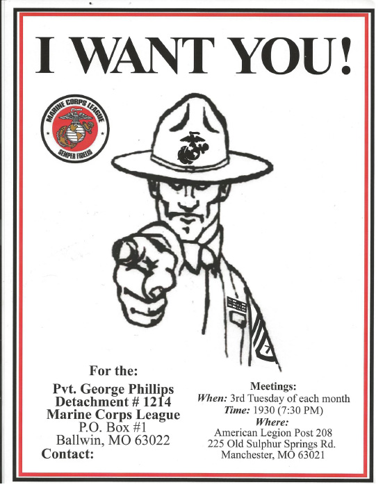 Pvt. George Phillips Detachment #1214, Marine Corps League November 2014 Calendar